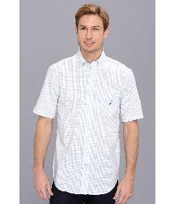 Nautica  - Wrinkle Resistant Tattersal Button Down S/S Shirt