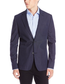 Perry Ellis - Cotton Plaid Jacket