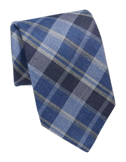 Michael Kors Plaid Tie - Michael Kors Plaid Tie