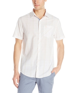 Original Penguin  - Mod Plaid Short-Sleeve Button-Down Shirt
