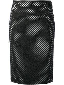 Tsumori Chisato - Polka Dot Print Skirt