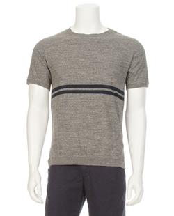 Ron Herman Denim - Indigo Striped T-Shirt