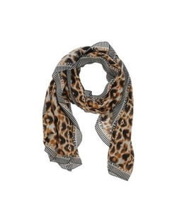 Pianurastudio - Animal Pattern Stole Scarf