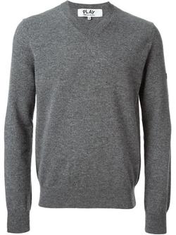 Comme Des Garçons Play - V-Neck Sweater