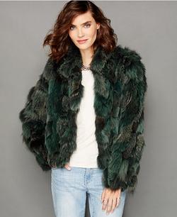 The Fur Vault - Fox Fur Jacket