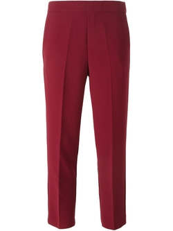 P.A.R.O.S.H.   - Cropped Slim Fit Trousers