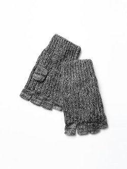 Gap - Ribbed Marled Fingerless Gloves