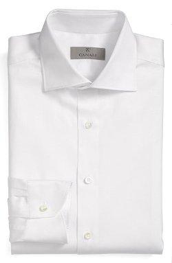 Canali  - Regular Fit Dobby Dress Shirt