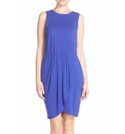 Adelyn Rae  - Layered Jersey Sheath Dress