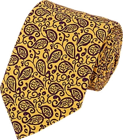 Barneys New York - Paisley-Print Necktie