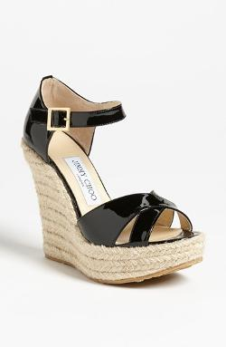 Jimmy Choo  - Pallis Wedge Sandals