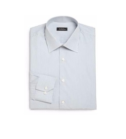 Saks Fifth Avenue Collection  - Regular-Fit Bengal Stripe Dress Shirt