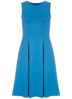 Dorothy Perkins - Cobalt Neoprene Midi Dress