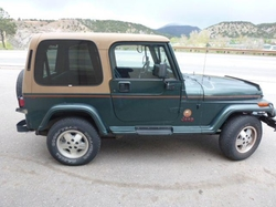 Jeep  - 1994 Wrangler Sahara SUV