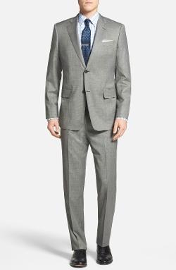 John W. Nordstrom - Classic Fit Nailhead Wool Suit