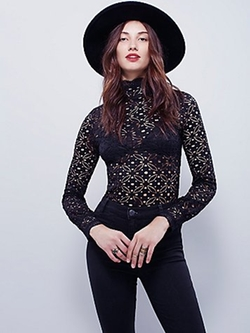 Free People - High Neck Julie Layering Top