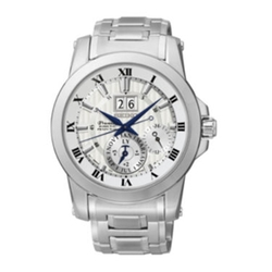 Seiko - Kinetic Perpetual Stainless Steel Watch