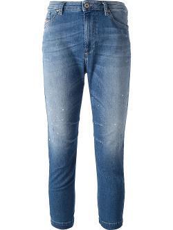 Diesel  - Grupee Cropped Jeans