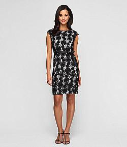 Alex Evenings  - Lace Sheath Dress