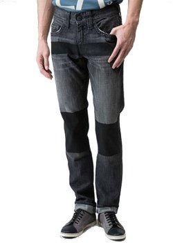 True Religion  - Slim Color Block Jeans
