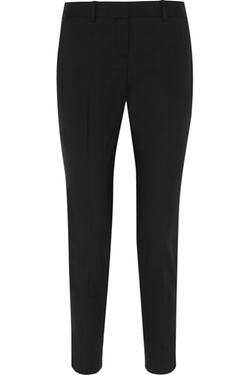Theory - Testra Wool-Blend Straight-Leg Pants