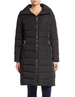 Calvin Klein - Zip-Front Puffer Coat