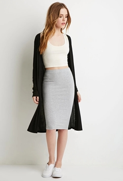 Forever21 - Heathered Pencil Skirt