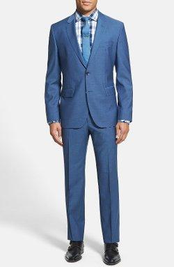 Boss Hugo Boss - Johnston/Lenon Trim Fit Wool & Mohair Suit