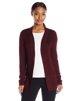 Anne Klein - Long-Sleeve Cardigan