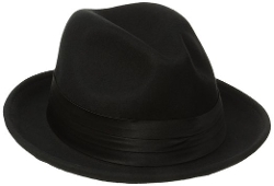 Stacy Adams - Crushable Snap Brim Fedora Hat