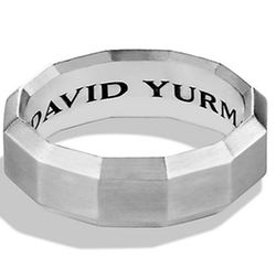 David Yurman - The Faceted Band Ring