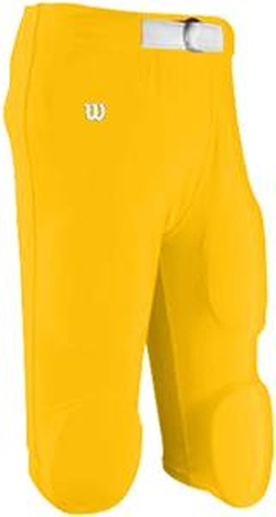 Wilson - Q1 Adult Matte Finish Game Football Pants