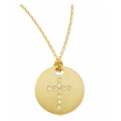 Roberto Coin - Cross Medallion Necklace