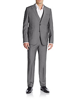 Armani Collezioni  - Regular-Fit Three-Piece Suit