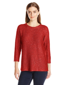 Anne Klein - Sequin Sweater