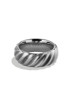 David Yurman - Modern Cable Wide Band Ring