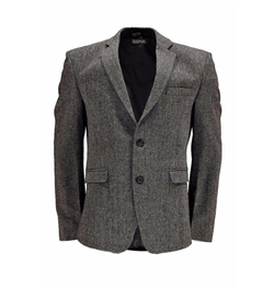 Boohooman - Slim Fit Tweed Blazer