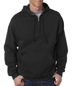 Jerzees  - Adult NuBlend Quarter-Zip Hooded Sweatshirt