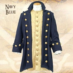 Museum Replicas  - Buccaneer Wool Pirate Coat