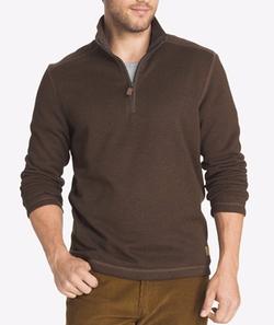 G.H. Bass & Co. - Zip-Neck Fleece Sweater