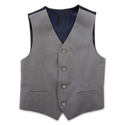 Izod - Sharkskin Suit Vest