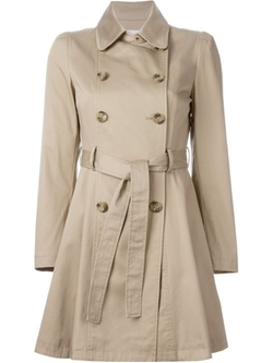 Red Valentino - Flared Trench Coat