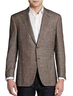Canali  - Two-Button Melange Sportcoat