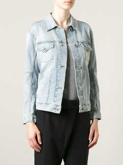28.5 - Embellished Star Denim Jacket