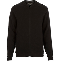 River Island - Textured Ribbed Bomber Jacket