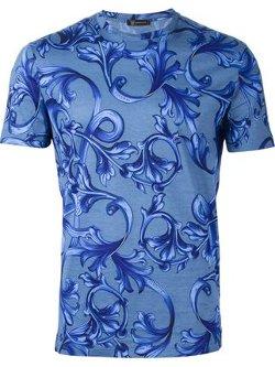 Versace - Baroque Print T-Shirt