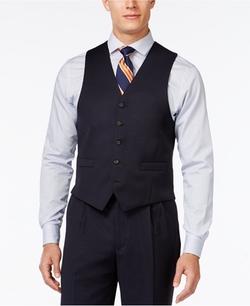 Lauren Ralph Lauren - Navy Solid Classic-Fit Vest