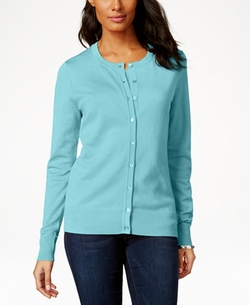 Charter Club  - Long Sleeve Fine Gauge Sweater