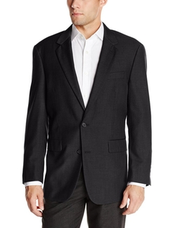 Louis Raphael - 2 Button Center Vent Classic Fit Suit Jacket