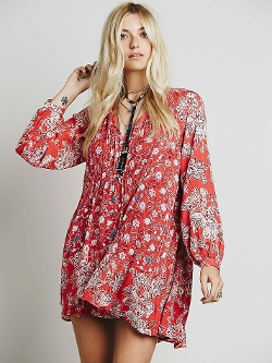 Free People - Lucky Loosey Shapeless Dress